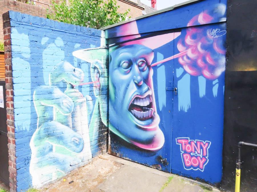 Tony boy street art