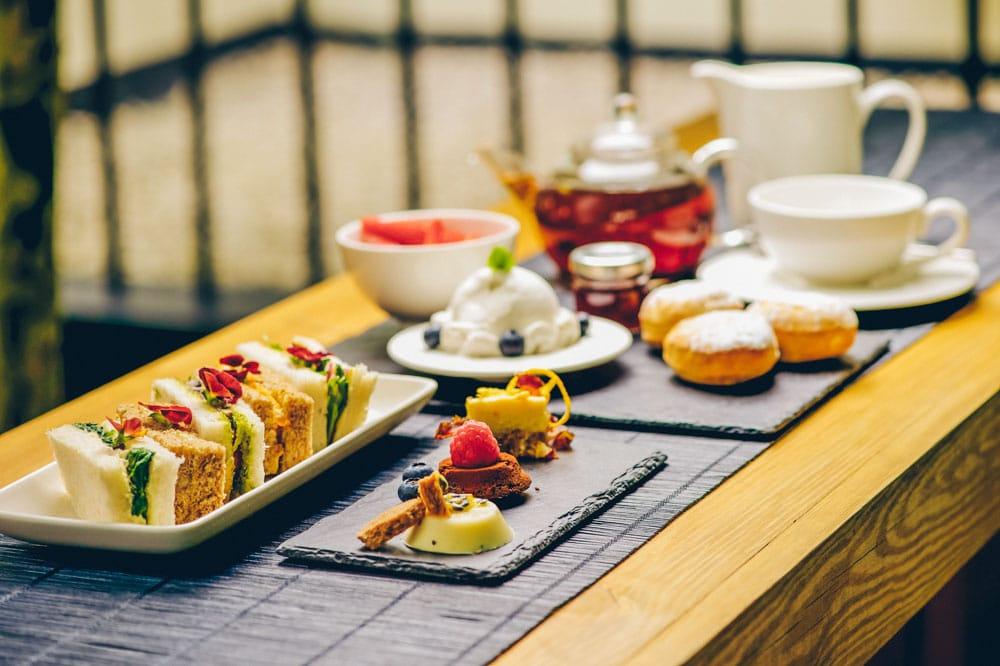 Vegan Afternoon Tea Nosh Kitchen