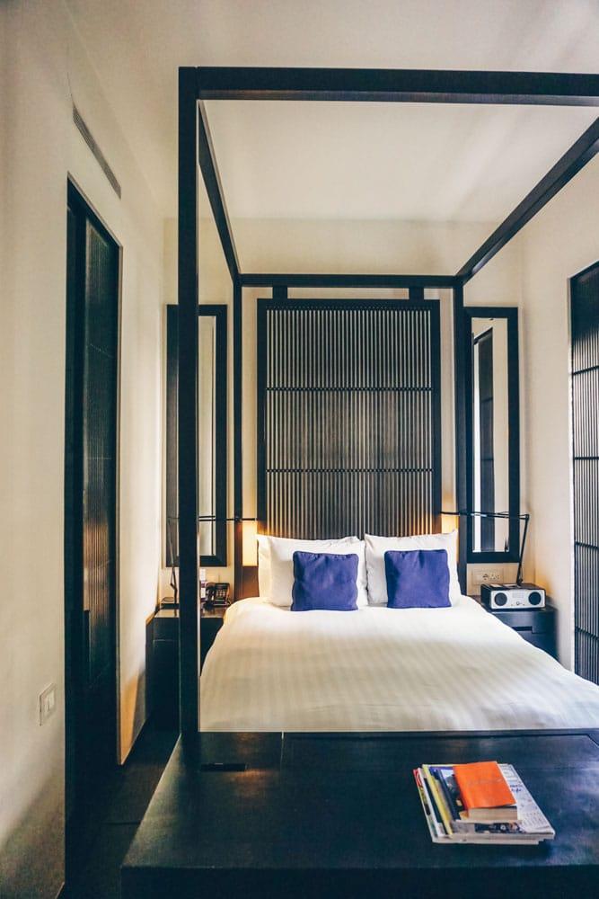 Bedroom at La Suite West