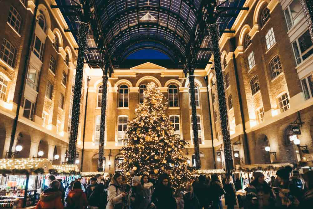 Hays Galleria at Christmas
