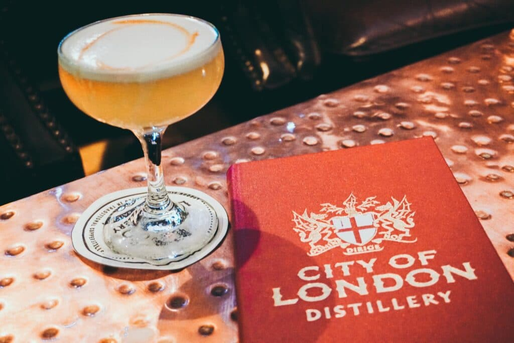 City of London Distillery Cocktail