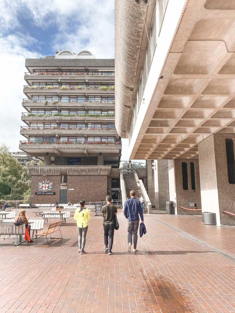 Brutalist Architecture Barbican