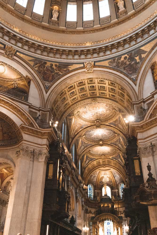 Inside St Pauls