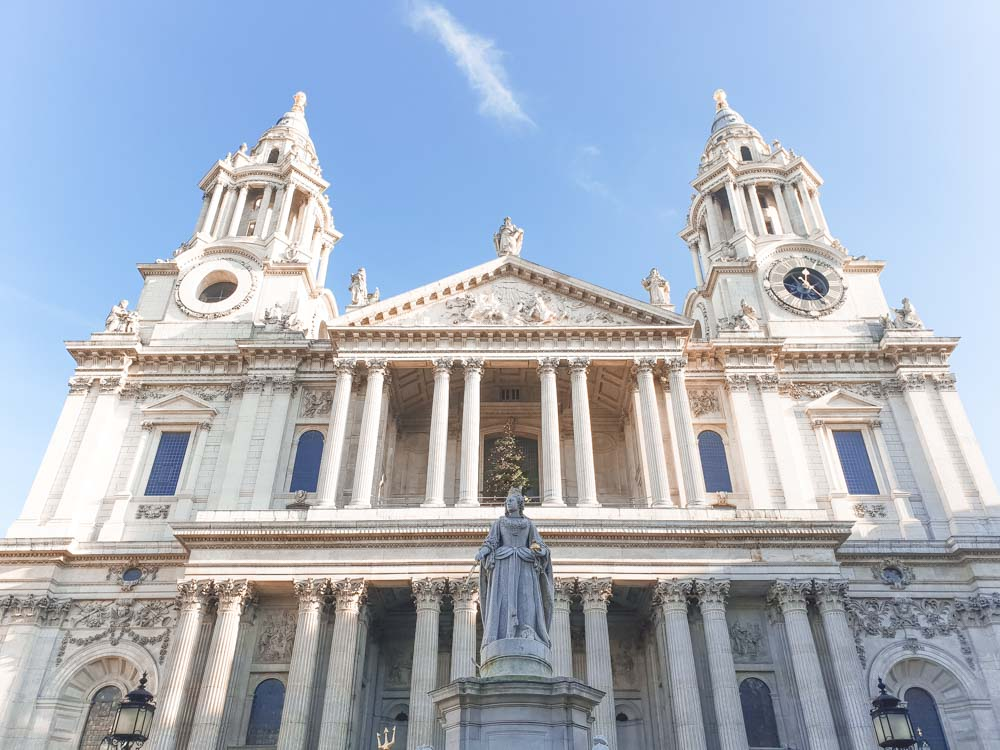 London Bucket List - St Paul's Cathedral