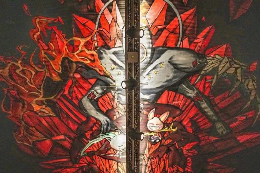 Street Art in Leake Street Tunnel