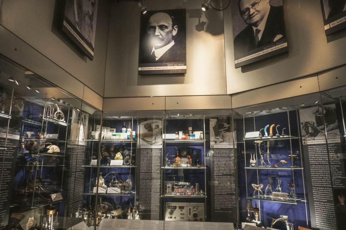 Anaesthesia Heritage Centre – Visiting One of London's Quirkiest Museums