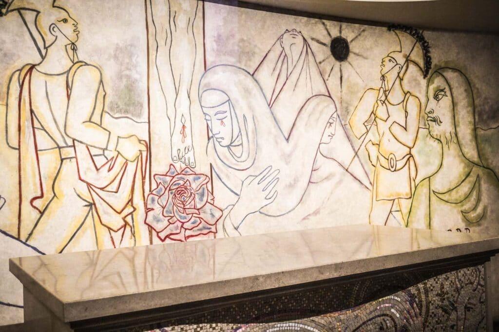 Jean Cocteau Murals