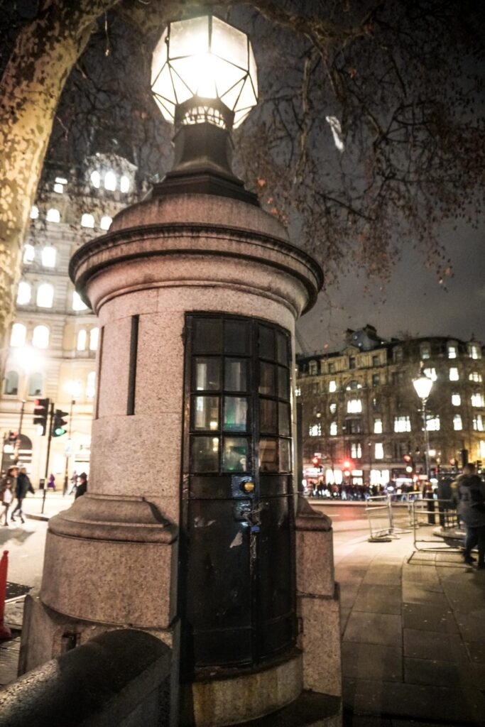 Smallest Police Station Trafalgar Square