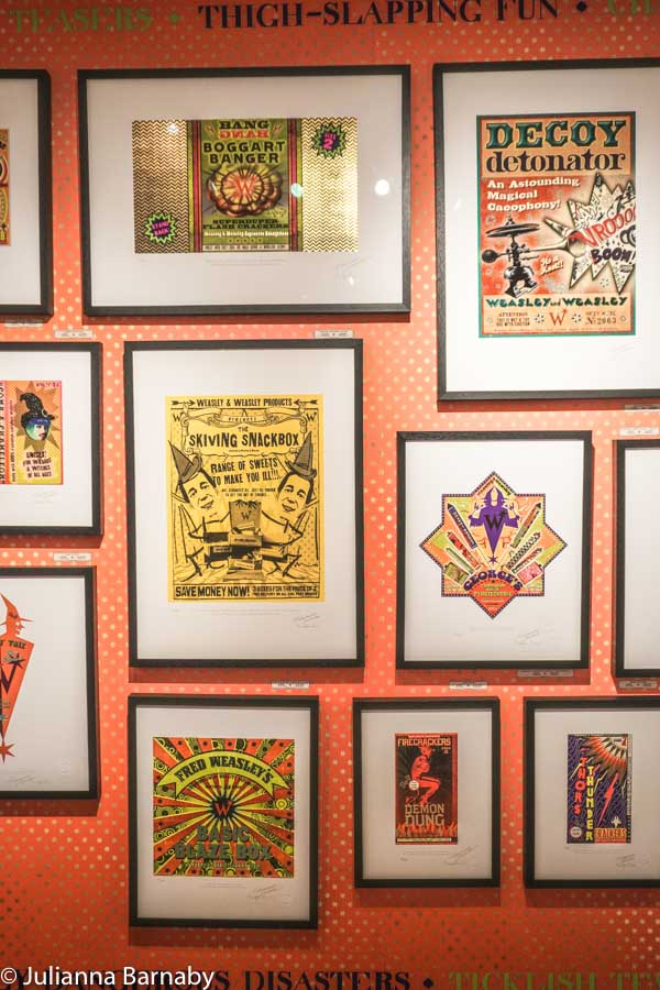 Graphics in House of Minalima