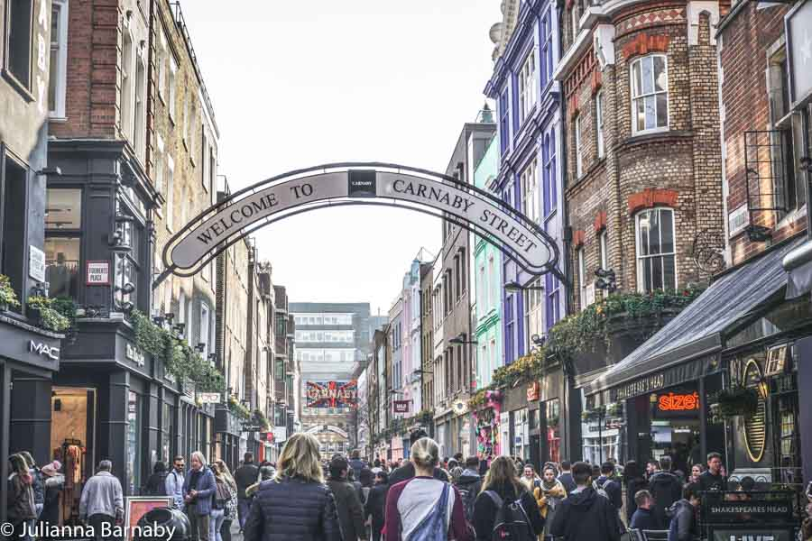 Time to Explore: Carnaby Street