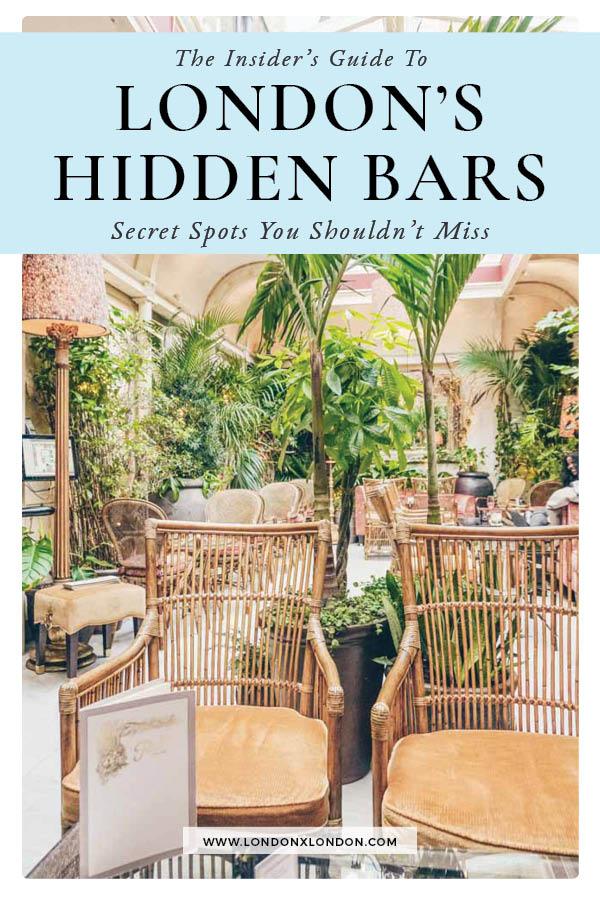 Hidden Bars London