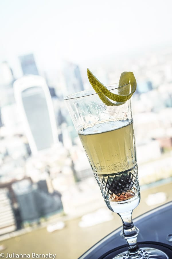 Cocktails in The Shard