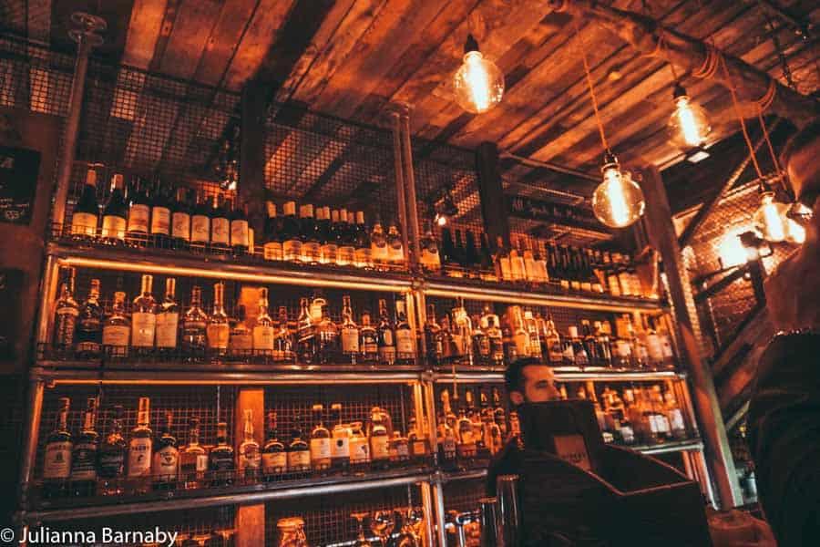 London Bridge Bars - Whiskey Ginger