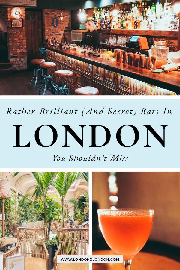 Secret Bars London