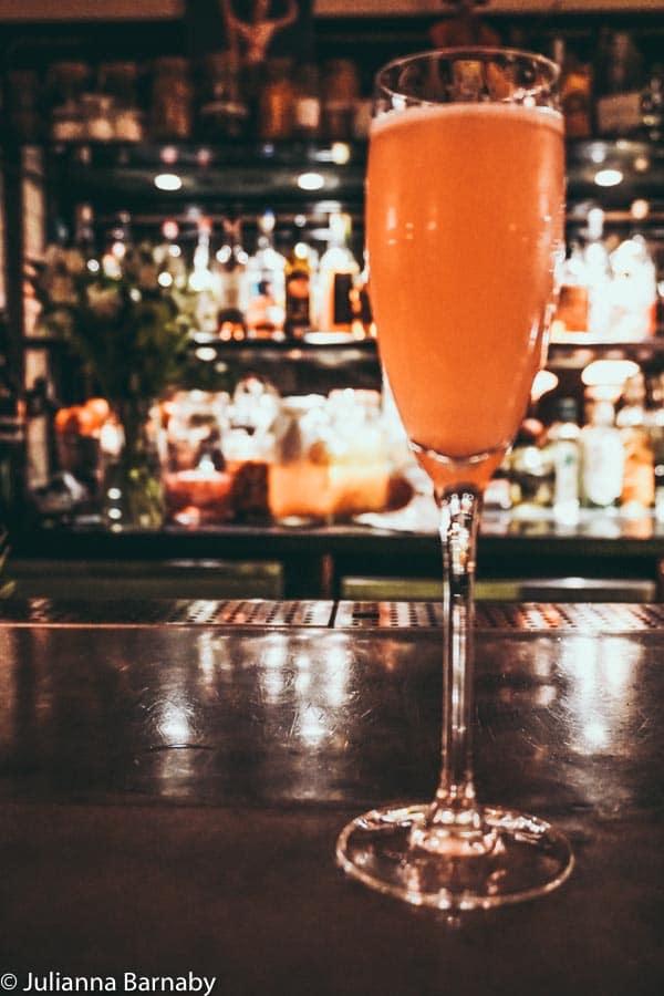 Cocktail at Hawksmoor