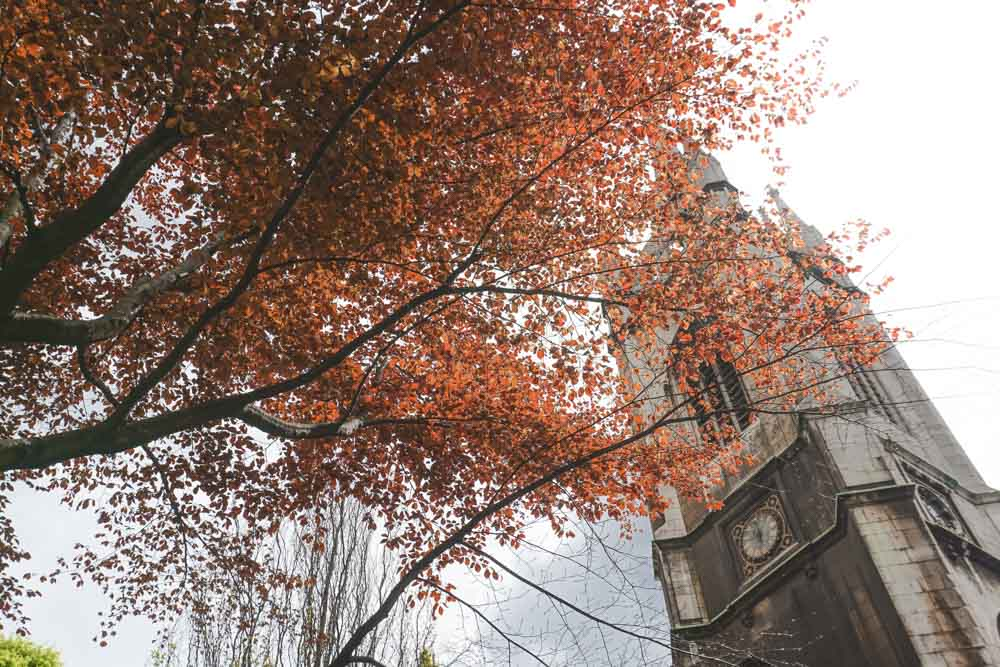 St Dunstan's bell tower