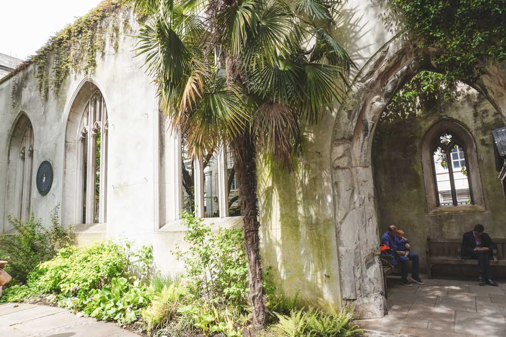 St Dunstan in the East: The Gorgeous London Park in an Abandoned Church