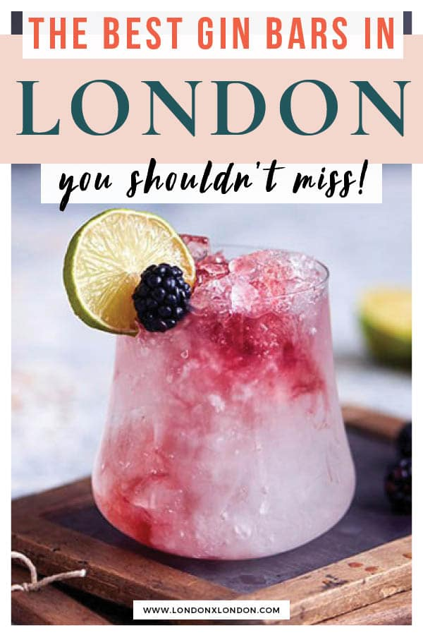 Gin Bars London