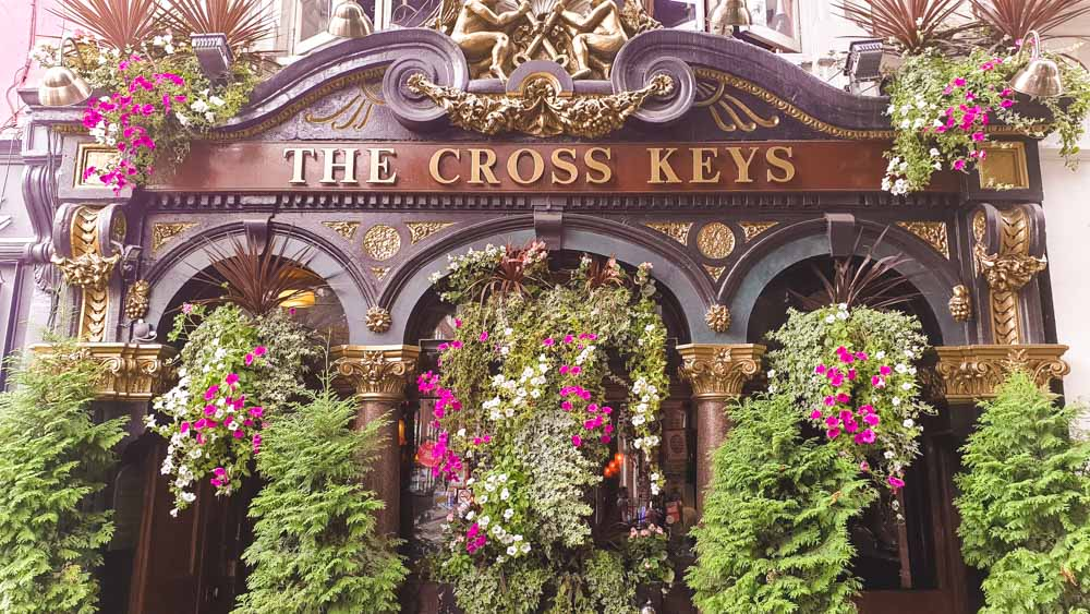 Cross Keys Pub Covent Garden-1