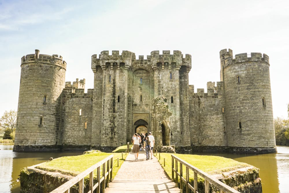 Bodiam Castle Walk