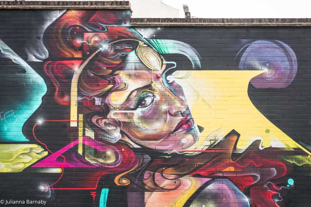 Mr Cenz Street Art Brixton