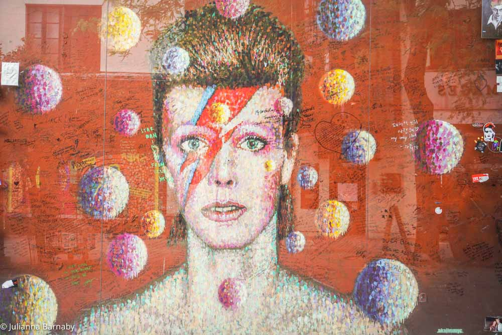 David Bowie Street Art Brixton