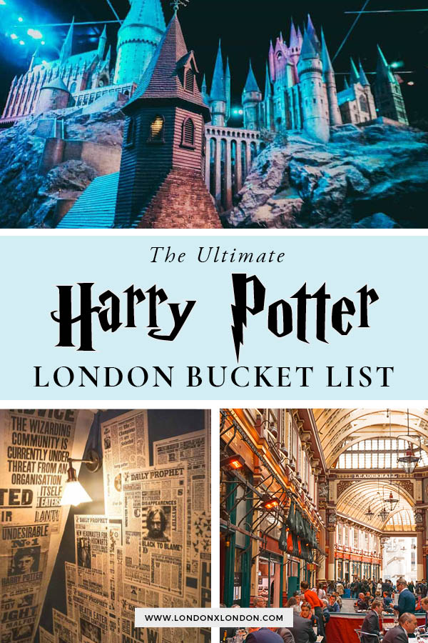Exploring Harry Potter in London