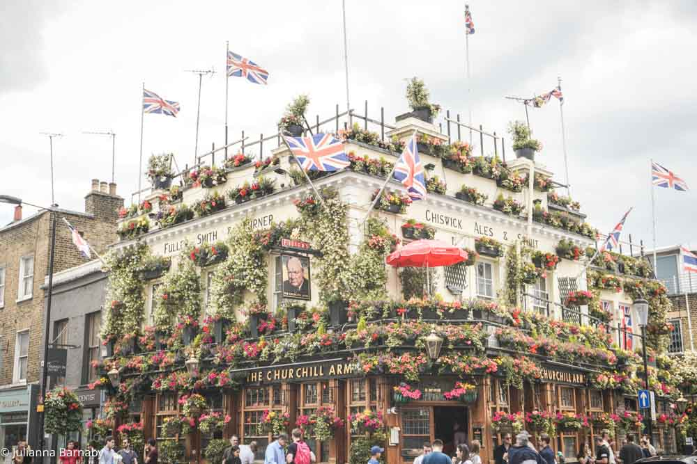 Cool Things to do in Kensington - The Churchill Arms