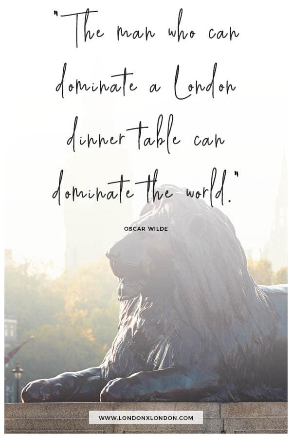 Dominate London Dinner Table