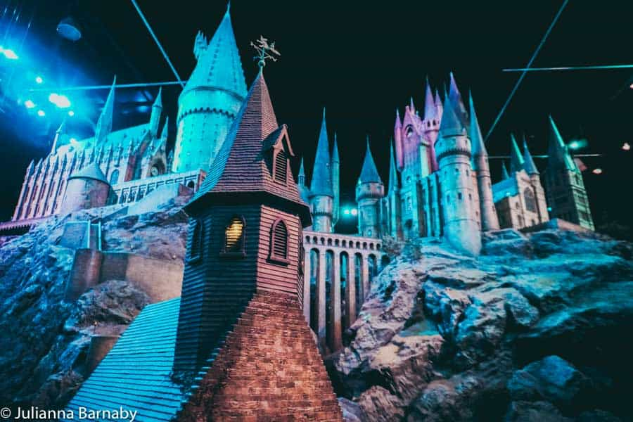 Hogwarts in Warner Bros Studios