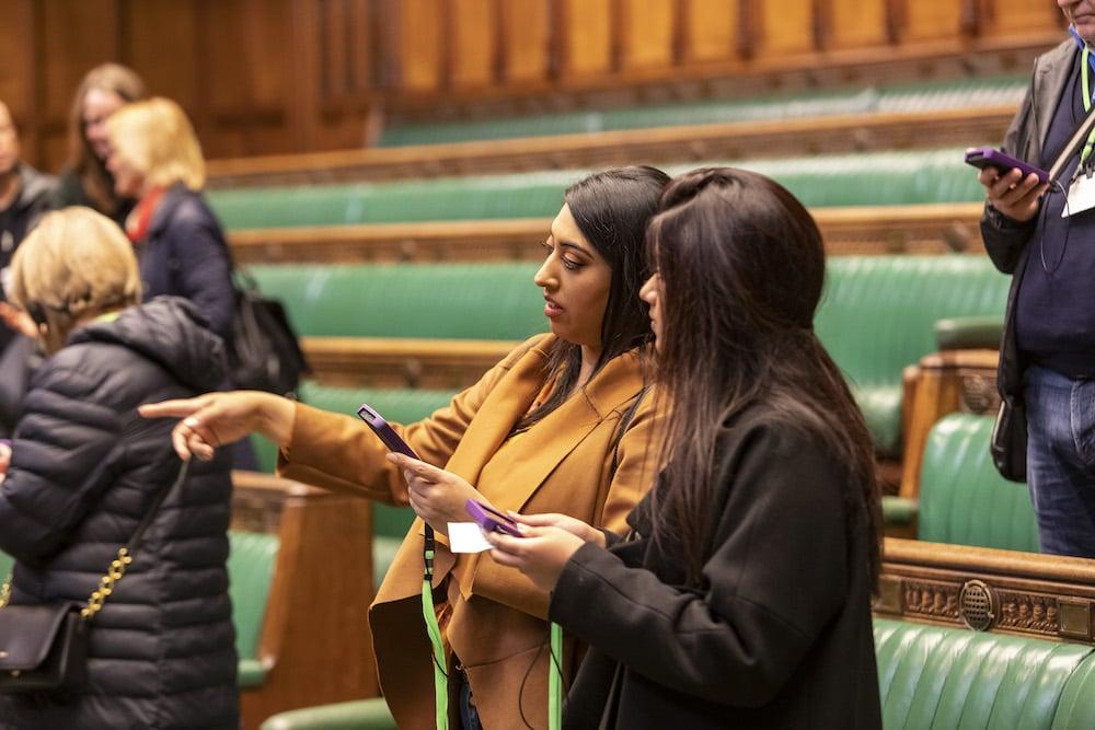 Parliament audio tour