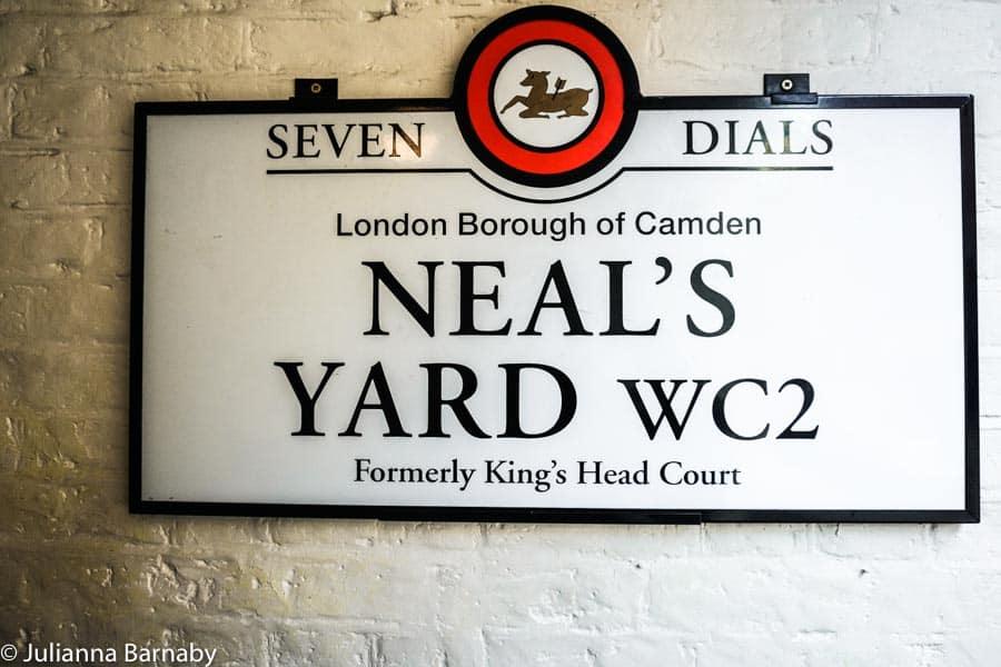 Neal's Yard: Covent Garden's Secret Hideaway