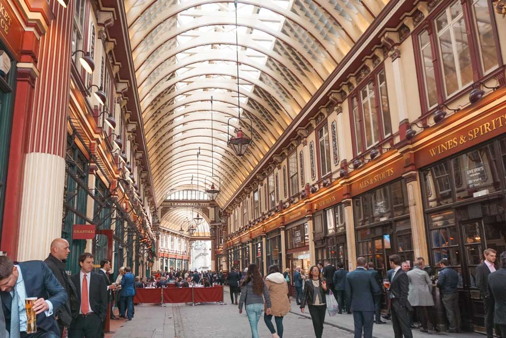 Leadenhall Market: The Historic London Market with a Touch of Harry Potter Magic