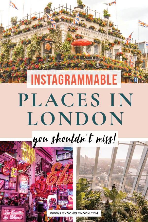 instagrammable london
