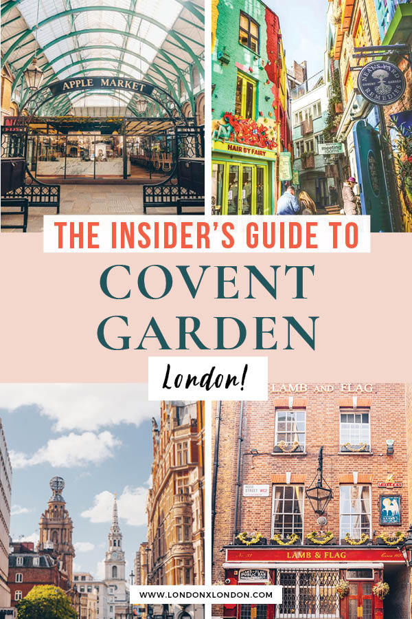 Things to do Covent Garden