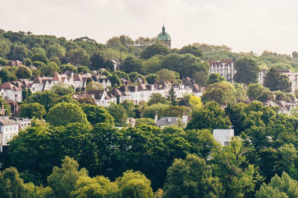 Views of Highgate from the Heath