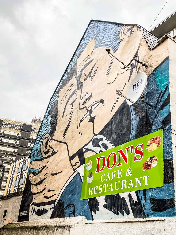 Street art in Croydon - Surrey Street