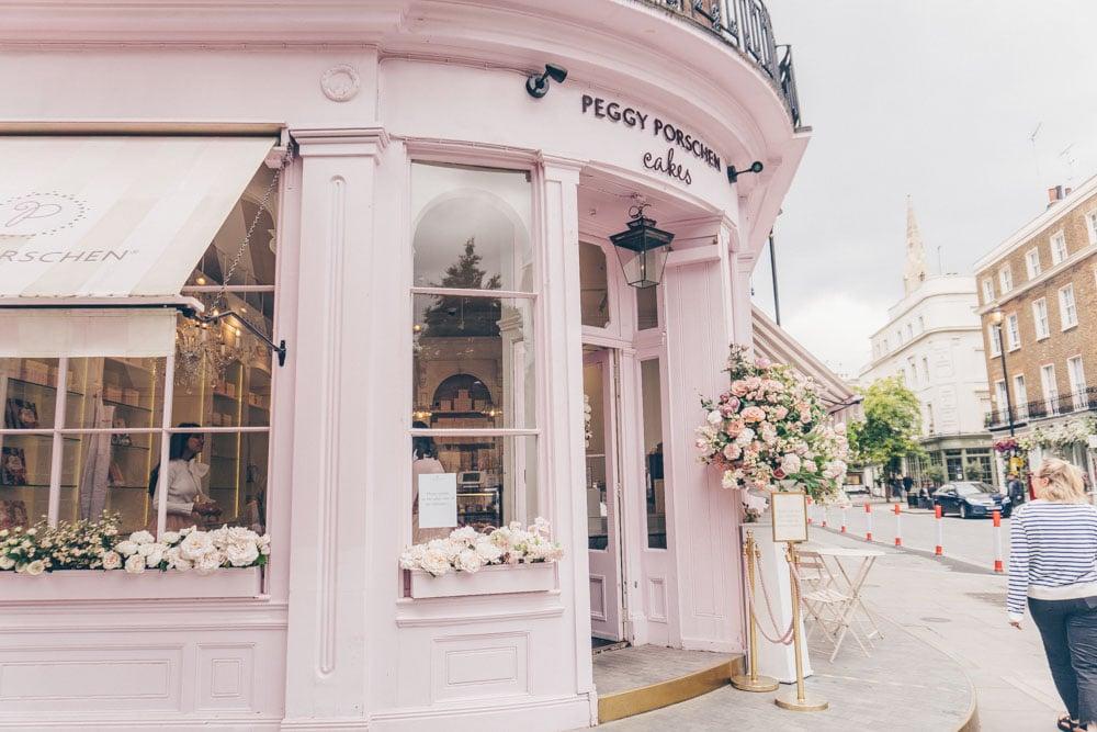 Pretty Cafes in London - Peggy Porschen