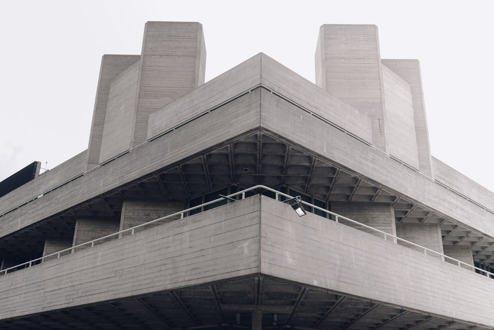 Brutalist London - The National Theatre