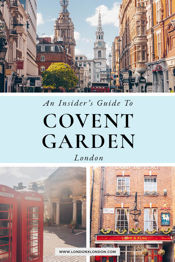 Covent Garden Area Guide
