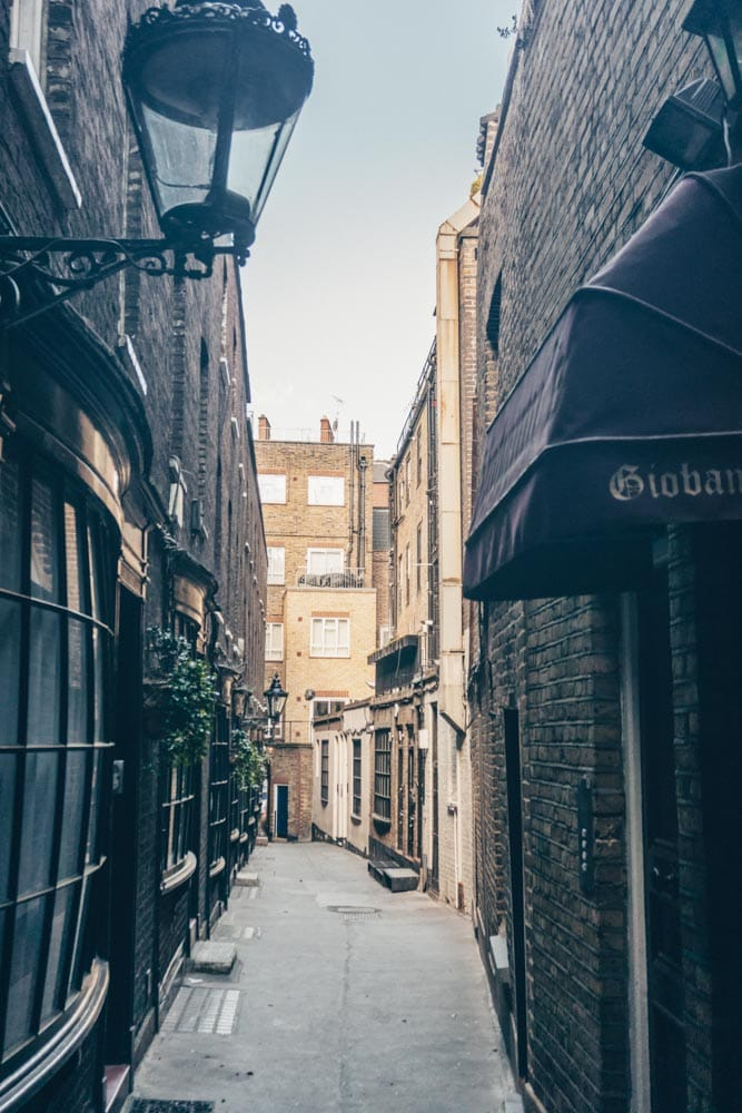 Goodwin's Court - A Peek at 17th Century London