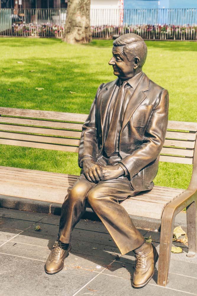 Mr Bean Scenes in the Square