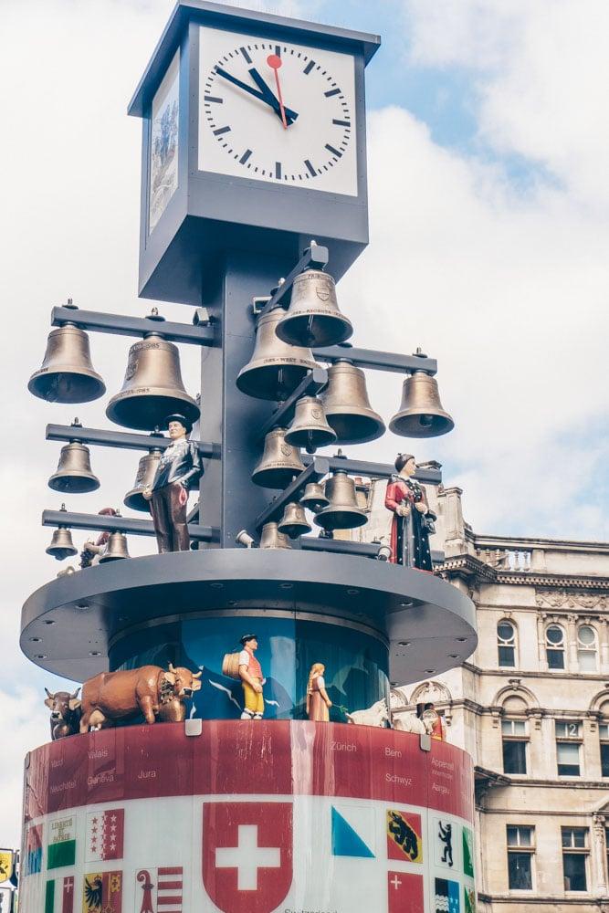 Swiss Glockenspiel