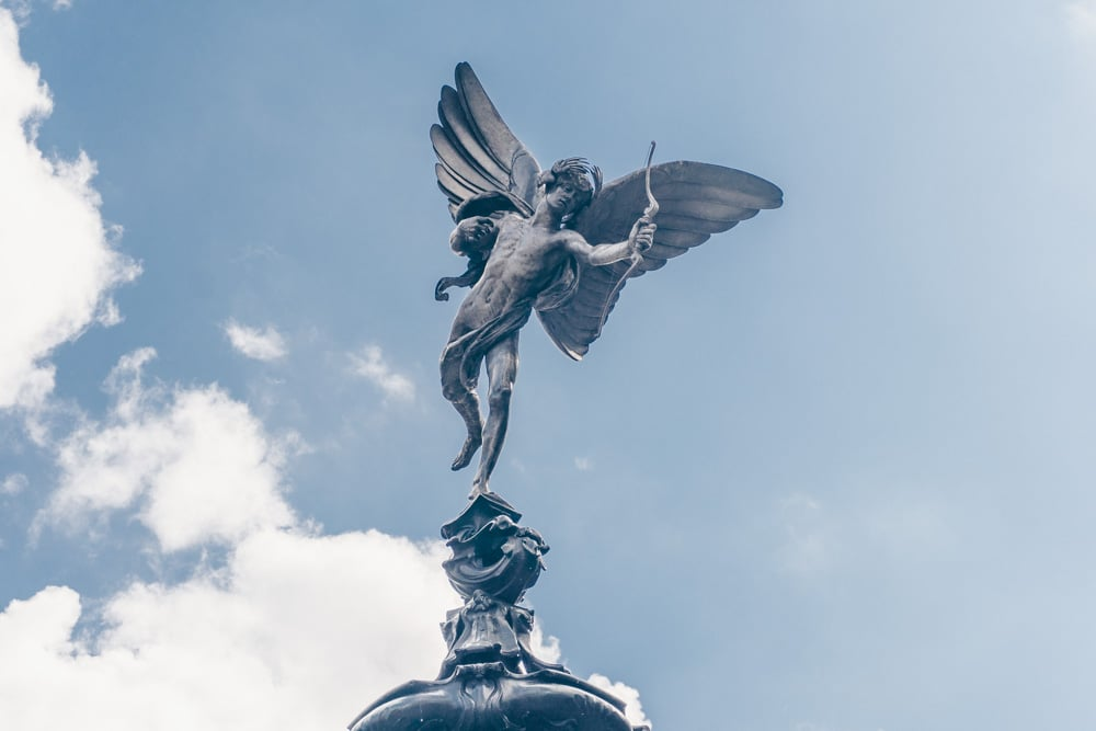 The Eros Statue: 12 Things You Never Knew about Piccadilly Circus' Famous Landmark
