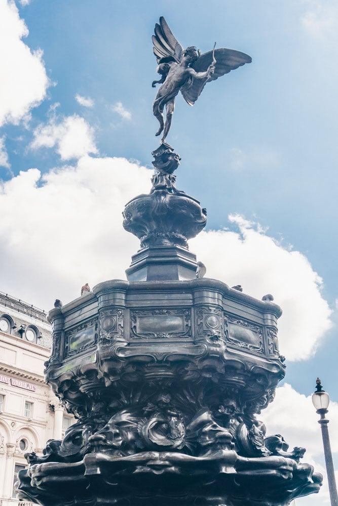 The Eros Statue London