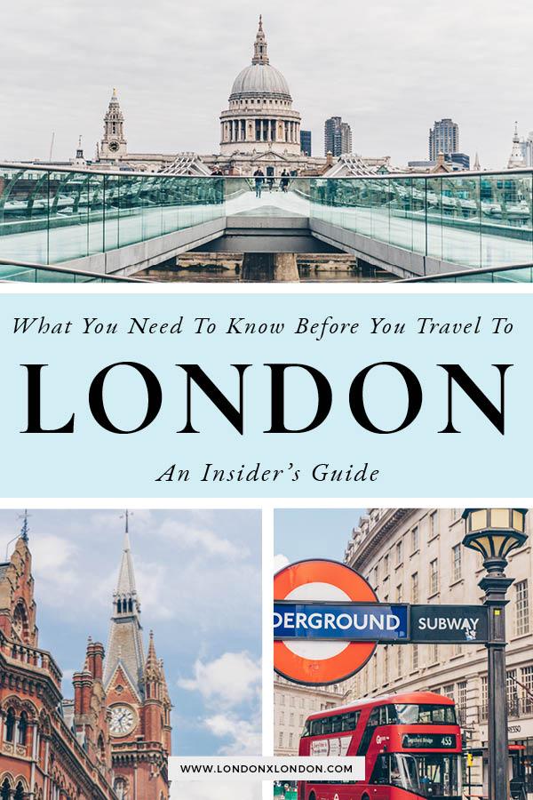 London Travel Guide Tips