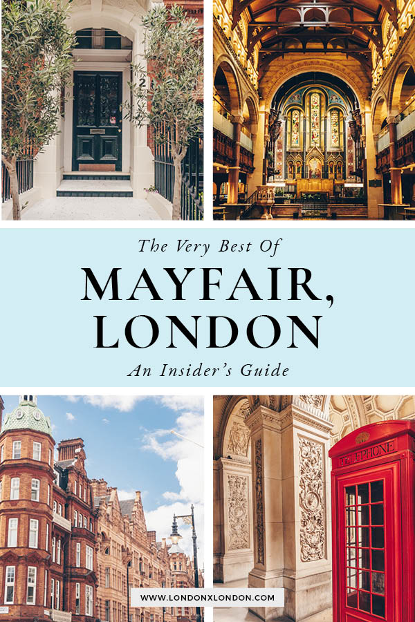 Things to do in Mayfair