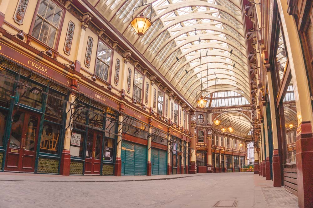 Leadenhall Market - just one of the places on the tour