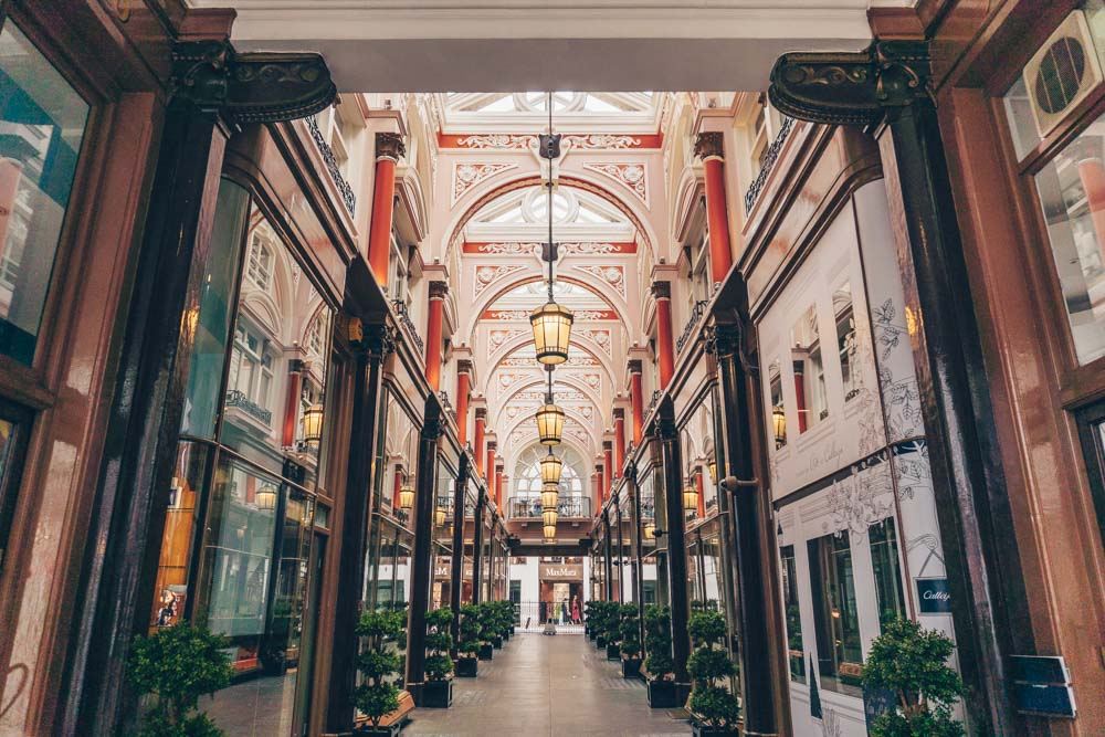 The Royal Arcade London
