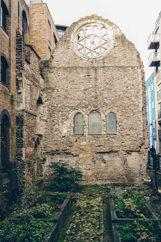 Winchester Palace Ruins